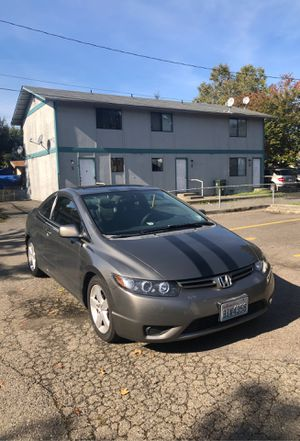 Honda civic 2007 2D for Sale in Renton, WA
