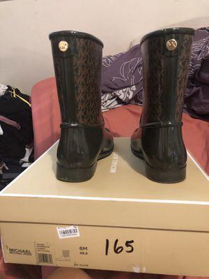 Michael Kors rain boots size 8 for Sale in Norcross, GA