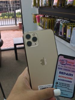 IPhone 11 Pro (64GB , 256GB ,512GB) Factory Unlocked | All colors Availble for Sale in Zephyrhills,  FL