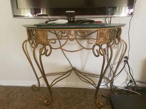 Glass console table for Sale in Orlando, FL