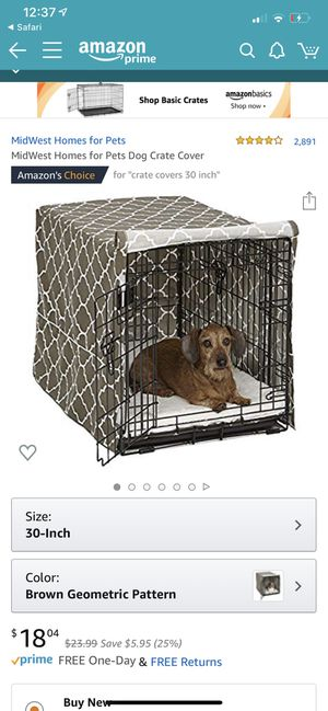 Quiet time dog kennel cover carrier for Sale in Marietta, GA