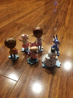 Doc Mcstuffins & Frozen figurines/small toys for Sale in Riverview, FL