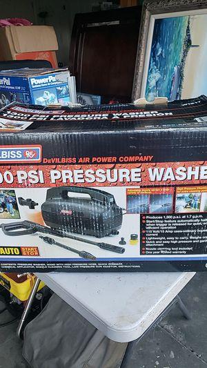Devilbiss pressure washer 1300psi for Sale in Livermore, CA