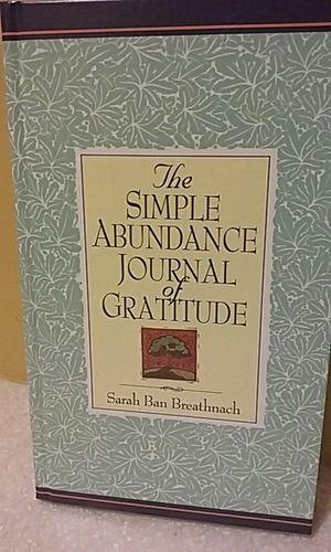 The Simple Abundance Journal of Gratitude for Sale in Detroit, MI