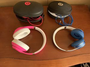 Pair of beats one studio and one solo for Sale in Kyle, TX