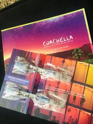Two Coachella weekend 1 for Sale in Santa Maria, CA