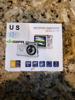 Digital camera new for Sale in Lake Elsinore, CA