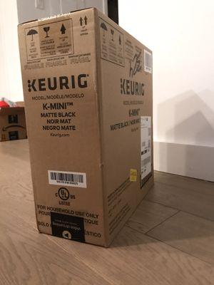 Keurig K-Mini Coffee Maker (unopened) for Sale in Jersey City, NJ