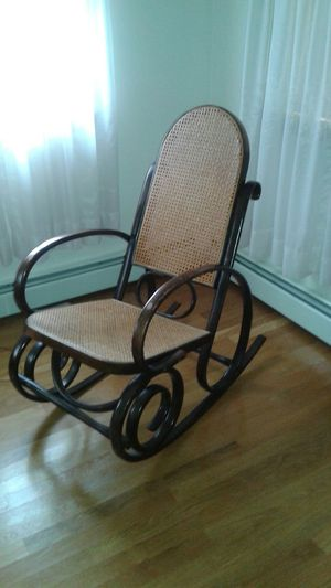 Bend wood rocking chair for Sale in Newburyport, MA