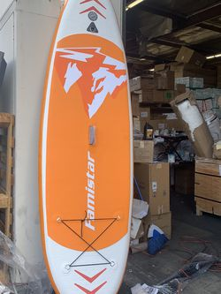 Famistar Inflatable Stand Up Paddle Board Lightweight SUP for Drift Yoga Fish for Sale in Hacienda Heights,  CA