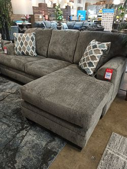 NEW IN THE BOX, SOFA CHAISE, SLATE. for Sale in Huntington Beach,  CA
