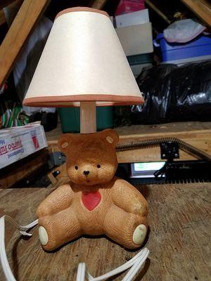 TEDDY BEAR LAMP for Sale in Cresaptown, MD
