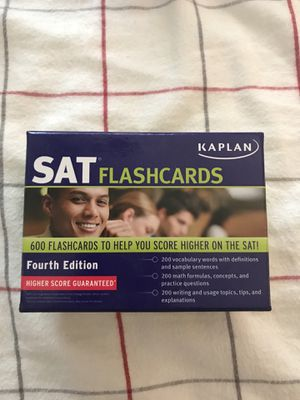 SAT Flashcards for Sale in Modesto, CA