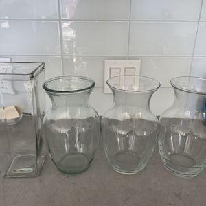 4 Flower Vases for Sale in San Francisco, CA