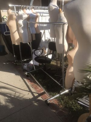 Showcases, mannequins and racks for sale for Sale in Oceanside, CA