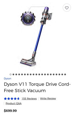 Dyson V11 Torque Vacuum Cord Free for Sale in Milpitas, CA