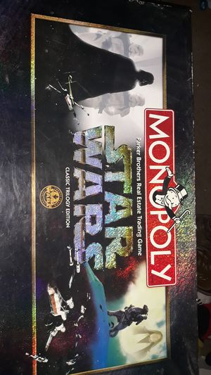 Monopoly star wars classic trilogy edition for Sale in Hallsville, TX