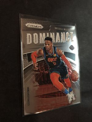 Russell Westbrook 2019 Panini Prism Basketball Card. Russell Westbrook Oklahoma City Thunder Basketball Trading Card for Sale in Chicago, IL