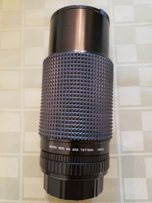 Sears Camera Lens 1:4.0 f=70210mm Auto Zoom Macro Model {contact info removed} for Sale in Puyallup, WA