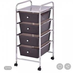 4 Drawers Metal Rolling Storage Cart for Sale in Upland, CA