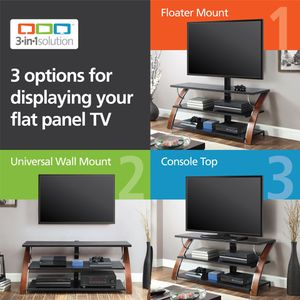 "Whalen Payton 3-in-1 Flat Panel TV Stand for TVs up to 65"" for Sale in South Salt Lake, UT"