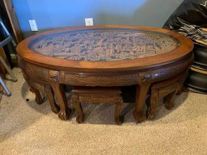 Antique Asian coffee table for Sale in Bethesda, MD
