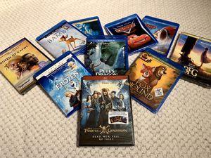 10 UNOPENED NEW DISNEY MOVIES, 7 BLU-RAY DVD for Sale in Everett, WA