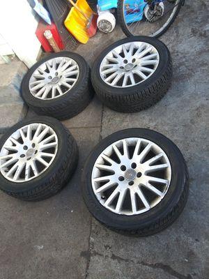 5x112 audi or Volkswagen wheels for Sale in Providence, RI