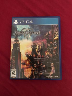 Kingdom Hearts 3 PS4 edition (Brand new) for Sale in Los Angeles, CA