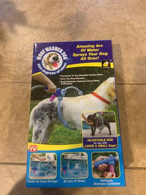 New Dog Washer - connects to hose for Sale in Olympia, WA