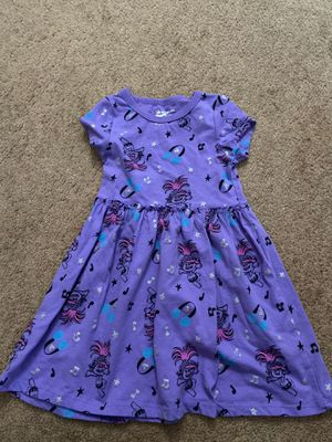 3T trolls toddler dress for Sale in Tracy, CA