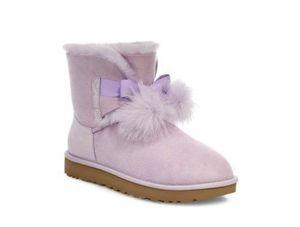 Ugg boots Gita Mini Bow lavender purple women's size 6 NEW for Sale in Escondido, CA