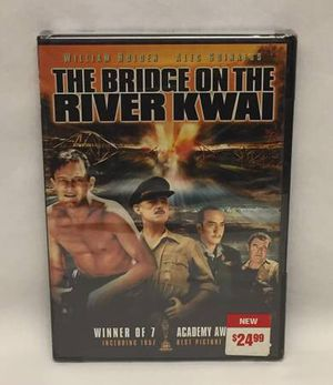 The Bridge on the River Kwai DVD William Holden Alec Guinness sealed for Sale in Phoenix, AZ