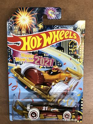 Hot Wheels Car Happy New Year 2021 Edition for Sale in Chandler, AZ