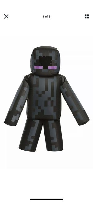 Kid's Minecraft Inflatable Enderman Costume One Size for Sale in Los Angeles, CA