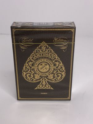 Gold edition theory playing cards rare for Sale in Boca Raton, FL