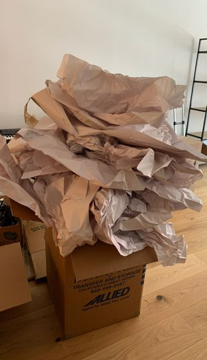 Moving supplies glassware packing paper for Sale in Washington, DC