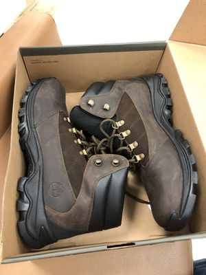 Men work boots Timberland size 12 brand new with box for Sale in Houston, TX