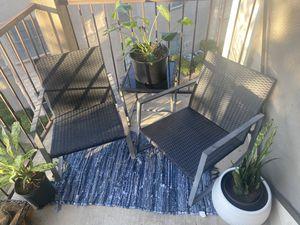 Beautiful black patio set for Sale in Richardson, TX