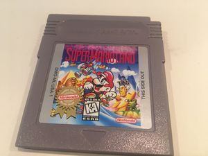 Nintendo GameBoy Super Mario Land Game for Sale in Woodinville, WA