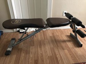 Flat Incline Decline Weight Bench for Sale in Butte, MT