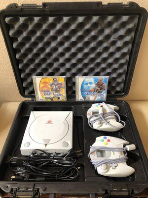 Video Game System - Sega DREAMCAST with (2) games only (NBA 2K & NFL 2K) for Sale in Las Vegas, NV