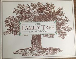 New family tree book for Sale in Arlington, VA