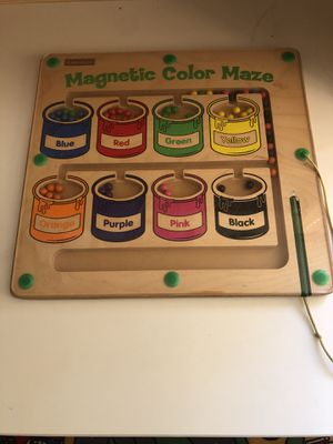 Lakeshore magnetic color and number maze for Sale in San Diego, CA