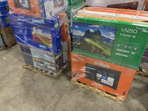 """TCL 50"""" and 55"""" smart Roku TV new open box 188 V for Sale in Dallas, TX"""