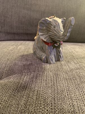 Wooden Elephant Christmas Ornament for Sale in Rockville, MD
