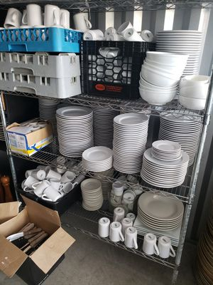 Huge Lot of Commercial Dishware for Sale in North Haven, CT
