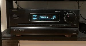 Onkyo 909 pro high end receiver w remote for Sale in Columbus, OH