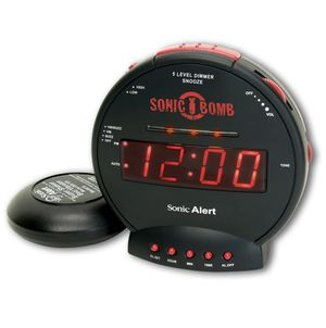 Sonic Bomb Loud Alarm Clock with Bed Shaker for Sale in Fairfax, VA
