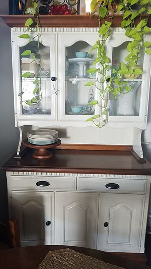 Wood hutch for Sale in Lancaster, PA
